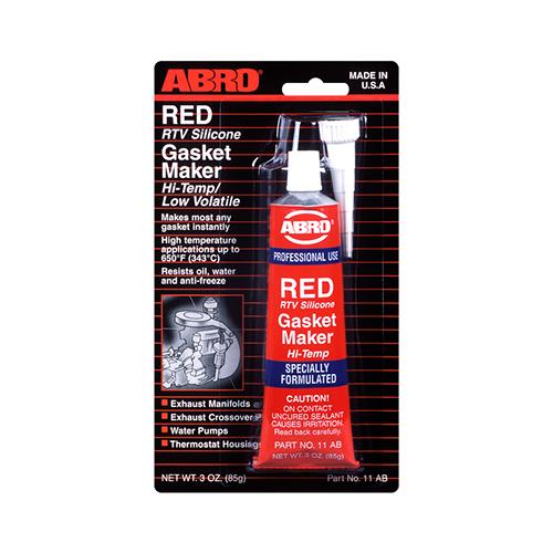 Красный герметик ABRO