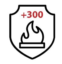 Демонтаж требует нагрева до 300ºС